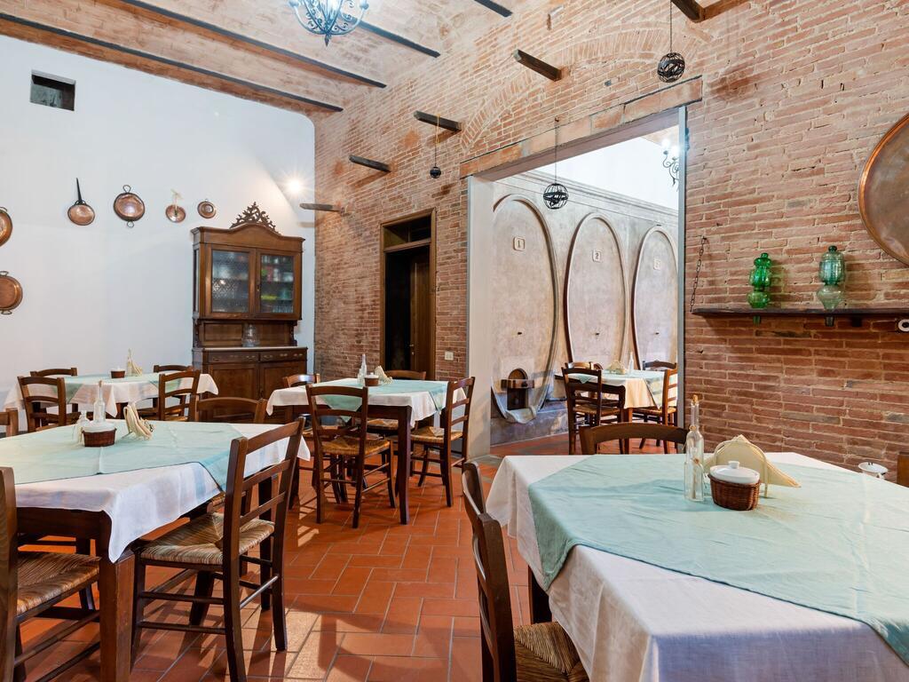 Casa vacanze in Toscana, sala per la colazione