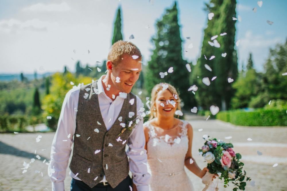 celebrazione matrimonio villa toscana