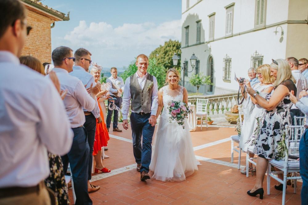 cerimonia in villa toscana