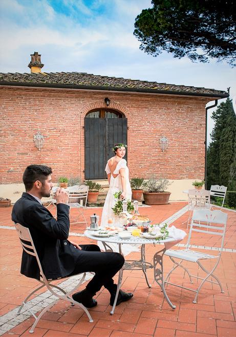 location matrimonio villa toscana