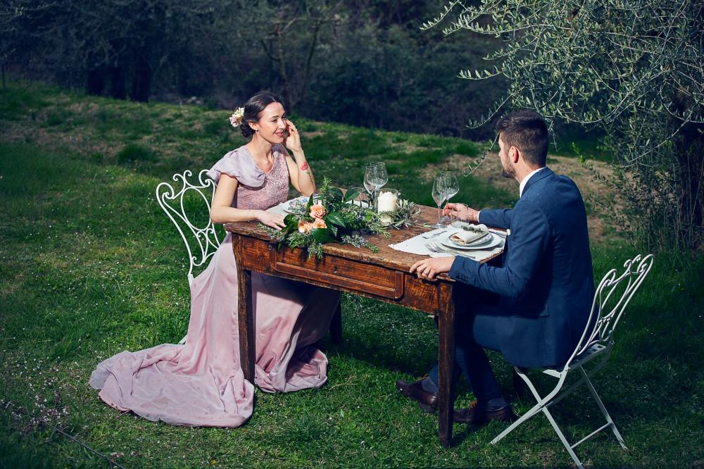 matrimonio romantico in Toscana per due