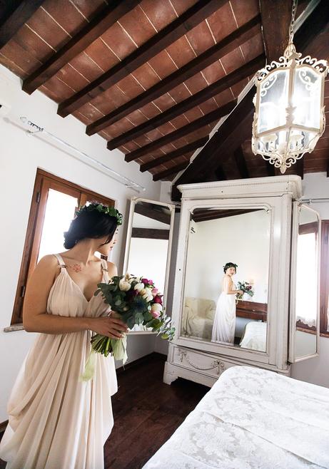 organizzazione matrimoni, location villa toscana