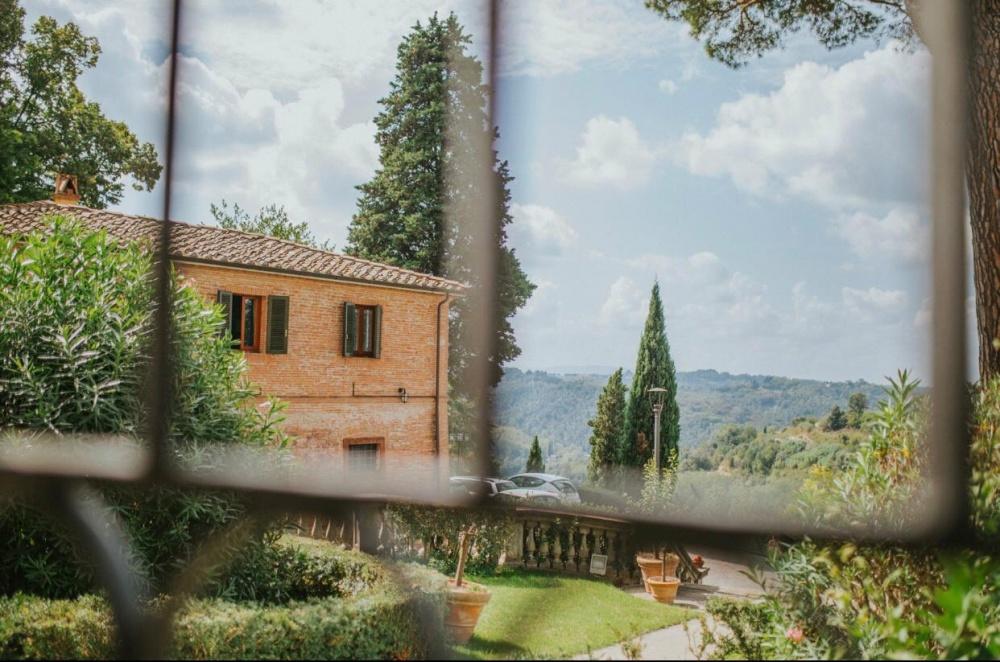 panorama villa borgo bucciano, location per matrimoni