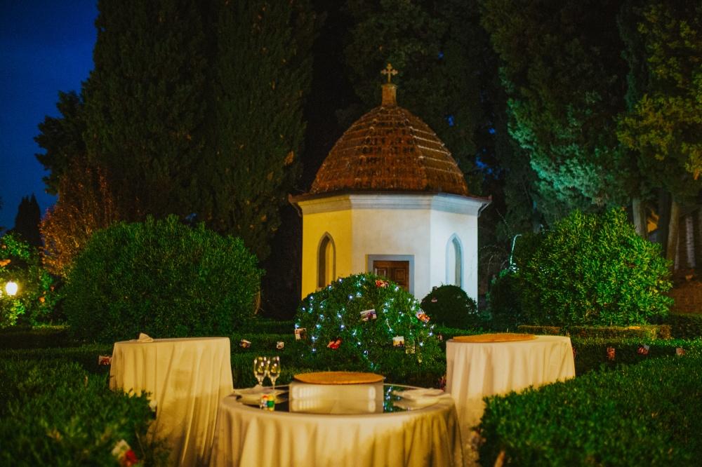 rito matrimonio religioso in villa toscana
