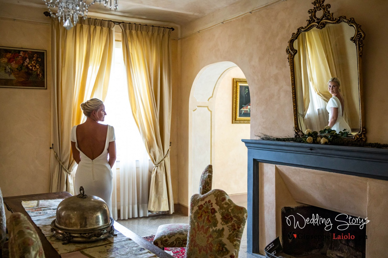 Eleganti saloni interni, villa in Toscana per eventi