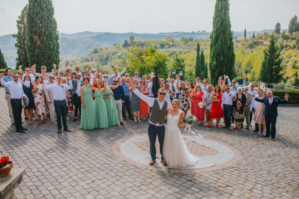 sposarsi in toscana, matrimonio in villa