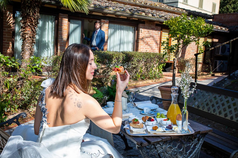 Suite nuziale in Toscana in villa storica