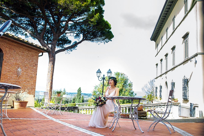 Villa per matrimonio di classe in Toscana